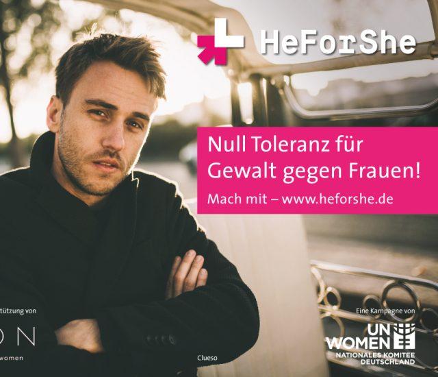 HeForShe: Null Toleranz für Gewalt gegen Frauen