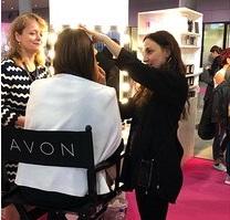 Avon Touch up 4 free: Make-up Artist Sabine Nania
