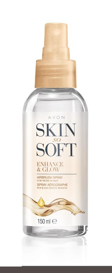 Skin So Soft ENHANCE & GLOW Schimmer-Spray betont deinen Beach Body perfekt