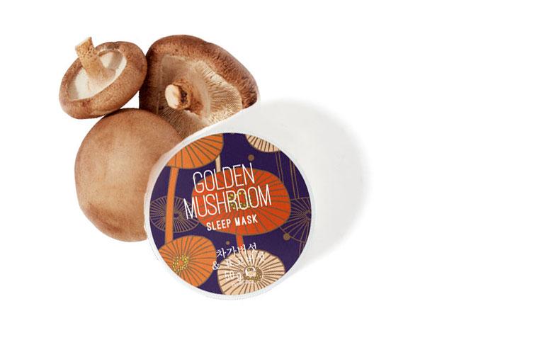 Schönheit aus Fernost mit Golden Mushrooms