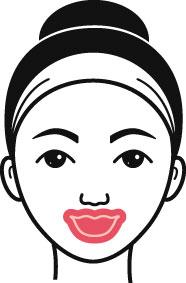 Lippenmaske