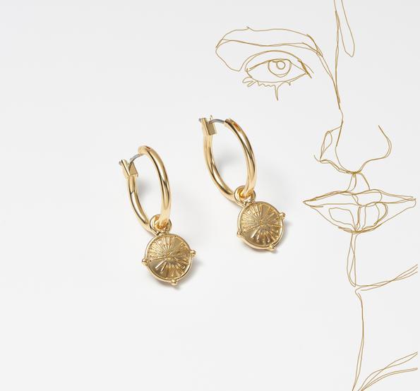 Schmuck Gold  Ohrringe