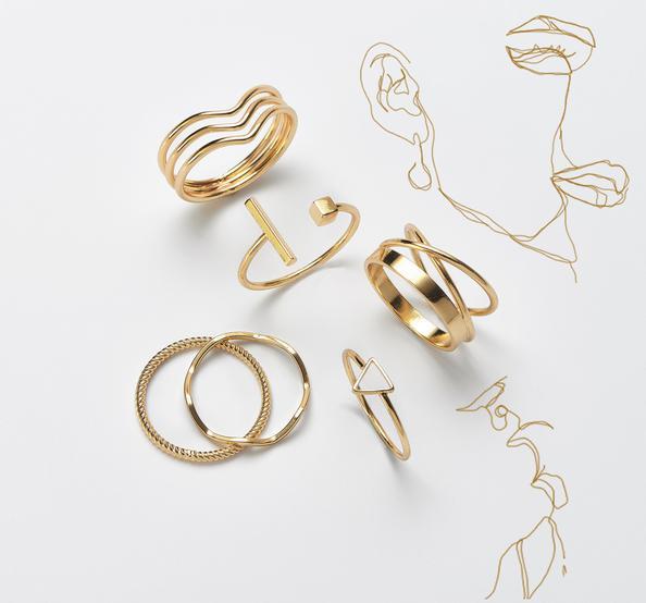 Schmuck Gold Ringe