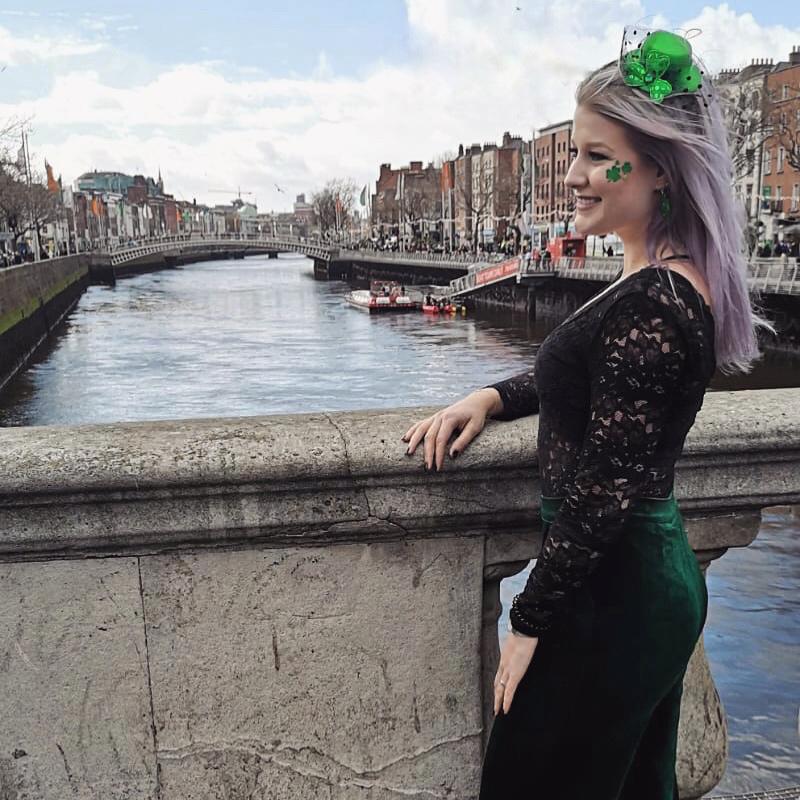 Saint Patricks Day Dublin Outfit