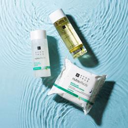 Hautpfelge im Sommer Mizellenprodukte
