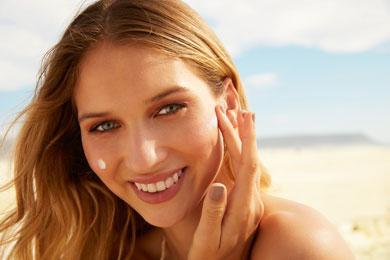 UV-Schutz Hautpflege im Sommer