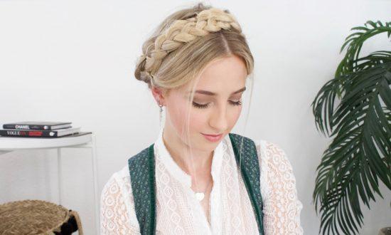 Wiesn Hairstyles 2019 – Frisuren flechten für Anfänger
