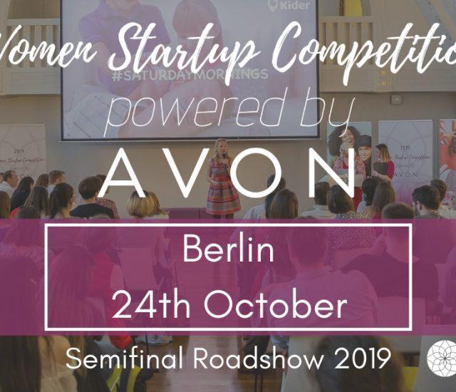 AVON unterstützt Beauty Start-ups in Zusammenarbeit mit der Women Startup Competition