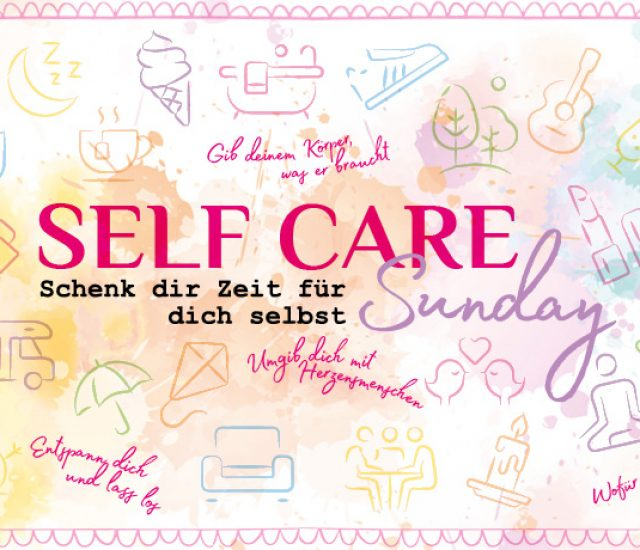 Energie tanken im Herbst – Self Care Sunday