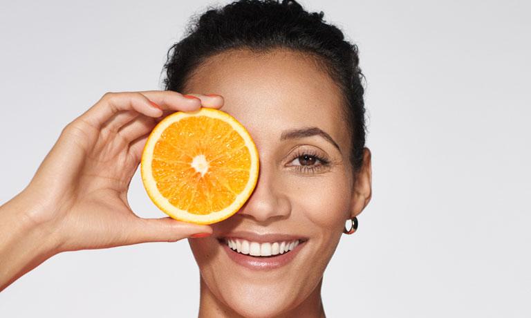 Beauty-Booster Vitamin C für strahlend schöne Haut
