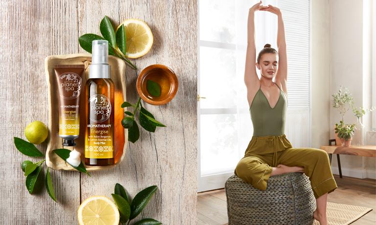 Frisch und voller Energie dank der Aromatherapie Linie Energise von Planet Spa