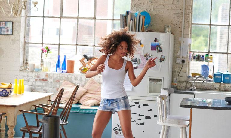 Macht Spaß, macht frisch - einfach ein paar Minuten tanzen