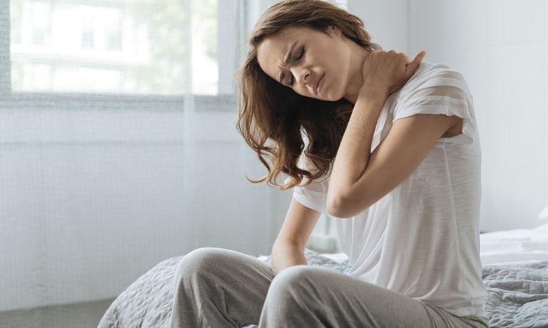 Stress führt oft zu schmerzhaften Verspannungen