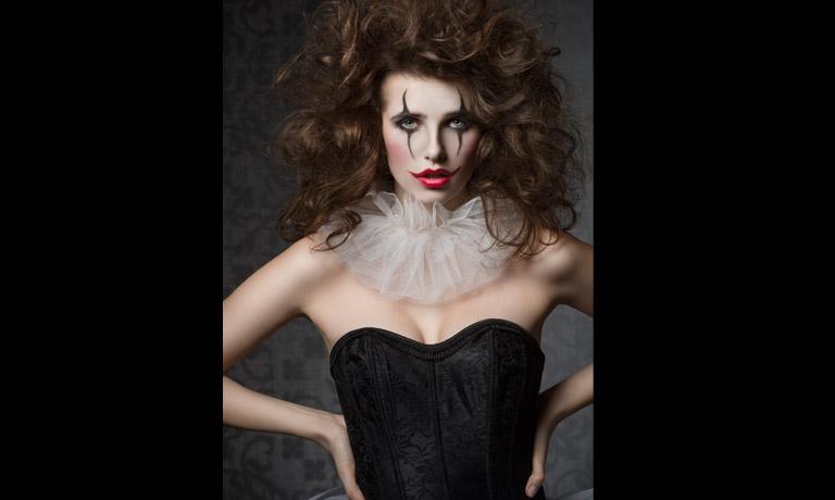 Joker Halloween Make-up