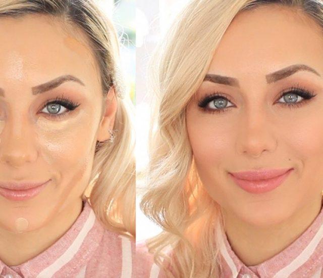 Rundes Gesicht schmaler schminken