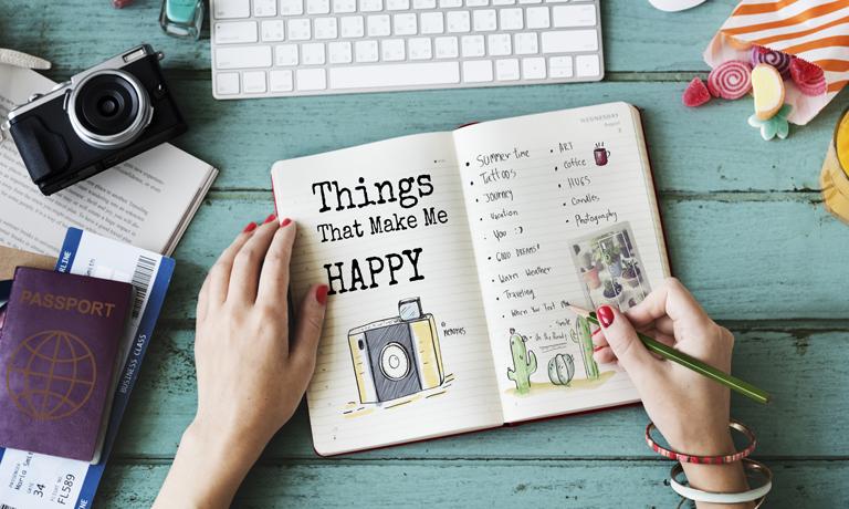 Zeit für dich- eine Liste mit Ideen