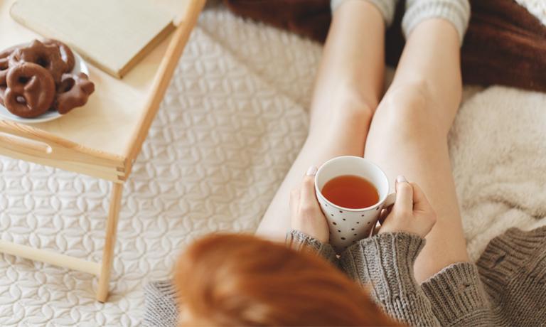 Nimm dir Zeit für dich bei einer Tasse Tee