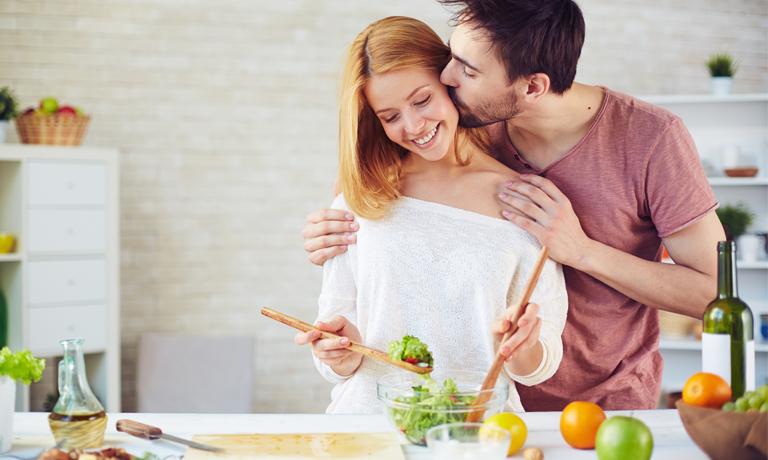 Macht Spaß und stärkt das Immunsystem: Küssen