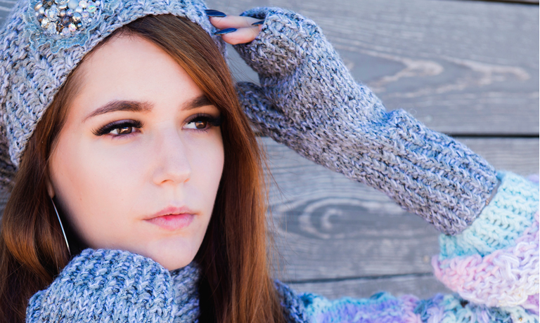 Immunsystem stärken - Mütze auf, Schal und Handschuhe an - bei frischen Temperaturen lieber warm anziehen