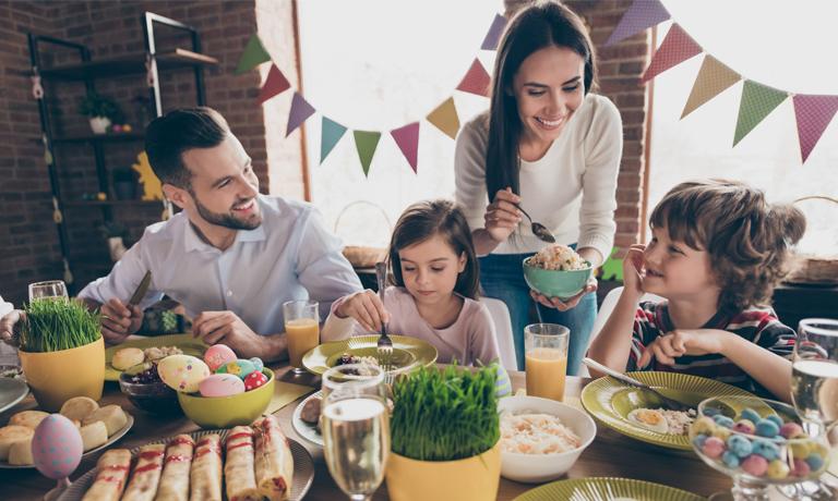 Ostern mal ganz anders - Brunch mit allen via FaceTime
