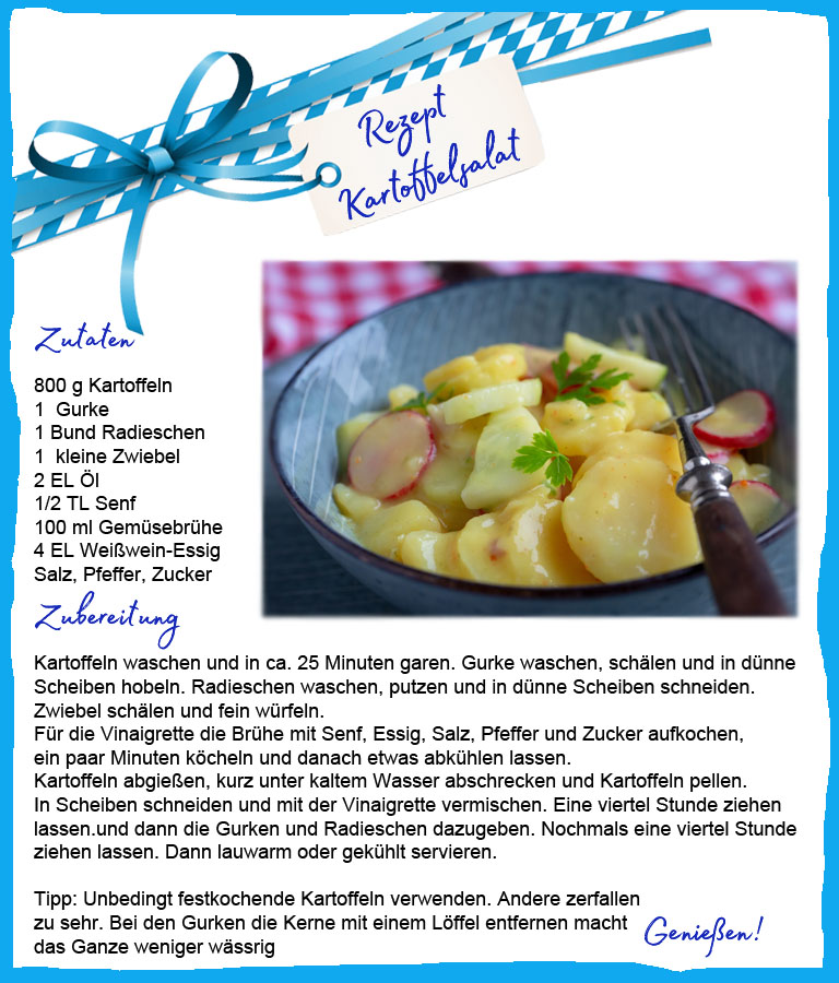Klassiker mal anders: Biergarten Rezept Kartoffelsalat