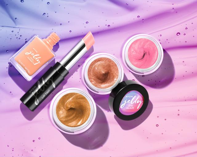 AVON TRUE Jelly Collection – Dewy Skin Look