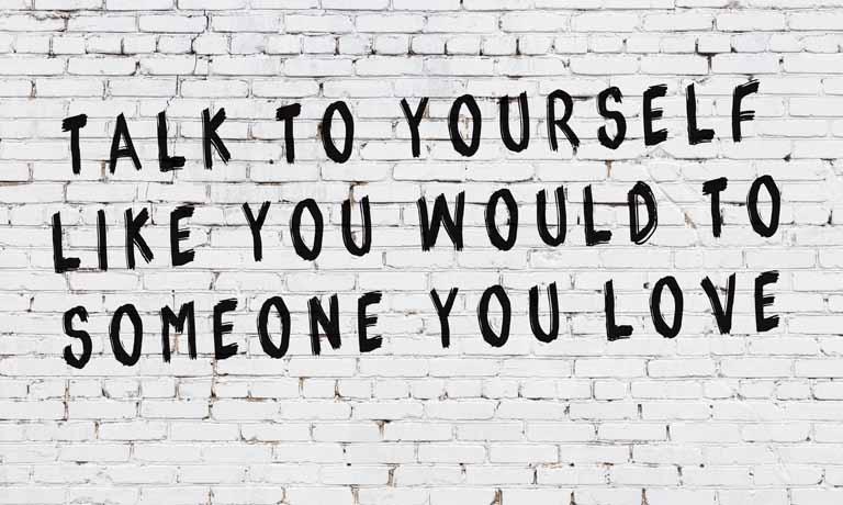Liebe deine Makel -  das heißt, sich selbst positiv zu sehen